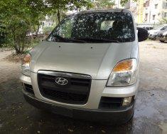 Bán Hyundai Starex GRX đời 2004, 6 chỗ, 800kg màu bạc, nhập khẩu Hàn Quốc giá 240 triệu tại Hà Nội