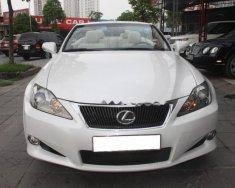 Bán Lexus IS 250C năm sản xuất 2009, màu trắng, xe nhập giá 1 tỷ 280 tr tại Hà Nội
