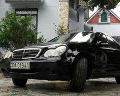 Bán xe Mercedes C180 đời 2002, màu đen, nhập khẩu giá 155 triệu tại Phú Thọ
