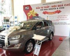 Cần bán Toyota Innova 2.0E đời 2018, màu nâu giá cạnh tranh giá Giá thỏa thuận tại Tp.HCM
