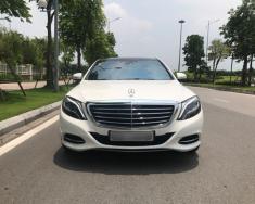 Bán Mercedes S500 sản xuất 2014, đkld 2015, màu trắng, nội thất nâu giá 3 tỷ 500 tr tại Hà Nội