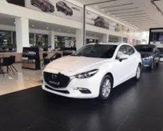 Bán xe Mazda 3 1.5L AT 2018 màu trắng mới 100% tại Showroom Mazda An Giang, phụ kiến hấp dẫn, hỗ trợ khách hàng tối đa giá 659 triệu tại An Giang