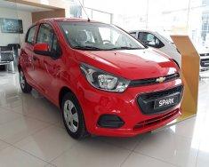 Cần bán Chevrolet Spark Dou, LT, Ls đời 2018, màu đỏ tại Phú Thọ, hỗ trợ vay 90%, Lh 0904016692 giá 359 triệu tại Phú Thọ