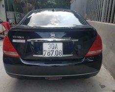 Bán Nissan Teana đk 2007, màu đen, nhập khẩu giá 330 triệu tại Hà Nội
