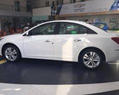 Bán Chevrolet Cruze LT 2018, màu trắng ưu đãi giảm đến 80 triệu, hỗ trợ 90%, mọi thủ tục đăng ký, đăng kiểm giá 589 triệu tại Thái Nguyên