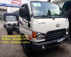 Bán xe tải Hyundai HD120SL 8 tấn (8T) thùng dài 6.3m giá tốt nhất giá 739 triệu tại Tp.HCM