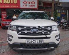 Bán Ford Explorer Limited 2.3L EcoBoost đời 2017, màu trắng, xe nhập như mới giá 2 tỷ 290 tr tại Hà Nội
