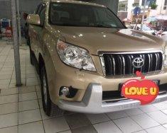 Bán Toyota Prado GX 2.7 AT năm sản xuất 2009, màu vàng, nhập khẩu nguyên chiếc giá 1 tỷ 150 tr tại Hà Nội