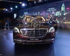 Cần bán xe Mercedes S450 Luxury năm sản xuất 2018, màu đỏ, giá tốt giá 4 tỷ 759 tr tại Tp.HCM