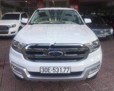 Cần bán lại xe Ford Everest Trend 2.2L 4x2 AT năm 2017, màu trắng, nhập khẩu nguyên chiếc chính chủ giá 1 tỷ 180 tr tại Hà Nội