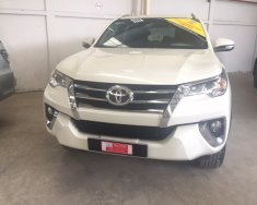 Bán Toyota Fortuner năm 2017, màu trắng, nhập khẩu giá 1 tỷ 250 tr tại Tp.HCM