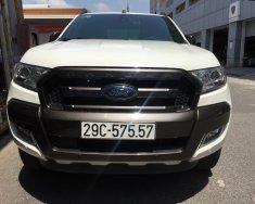 Bán Ford Ranger Wildtrack 3.2 trắng đời 2016 giá 825 triệu tại Hà Nội