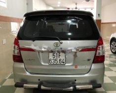 Bán Toyota Innova 2.0E sản xuất 2016, màu bạc xe gia đình giá 615 triệu tại Tp.HCM