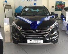 Bán Hyundai Tucson 1.6 Turbo đời 2018, màu đen giá 760 triệu tại Hà Nội