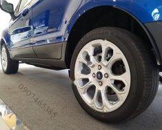 Bán ô tô Ford EcoSport Titanium 1.5L AT sản xuất 2018, màu xanh lam giá 648 triệu tại Tp.HCM
