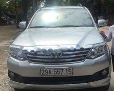 Cần bán lại xe Toyota Fortuner 4x2AT đời 2012, màu bạc   giá 810 triệu tại Hà Nội