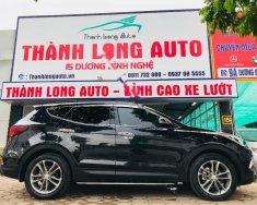 Cần bán xe Hyundai Santa Fe 2.4 năm 2017, màu đen chính chủ giá 1 tỷ 60 tr tại Hà Nội