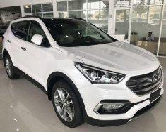 Bán Hyundai Santa Fe sản xuất năm 2018, màu trắng, giá tốt giá 970 triệu tại Hà Nội