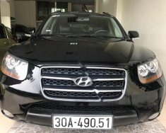 Cần bán lại xe Hyundai Santa Fe 2.0MLX năm sản xuất 2008, màu đen, xe nhập giá 550 triệu tại Hà Nội
