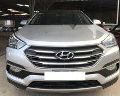 Cần bán Hyundai Santa Fe 2.4AT đời 2017, màu bạc, giá tốt giá 1 tỷ 46 tr tại Tp.HCM