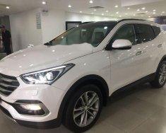 Cần bán lại xe Hyundai Santa Fe đời 2018, màu trắng giá 1 tỷ 130 tr tại Tp.HCM
