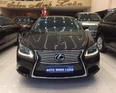Bán ô tô Lexus IS LS600h sản xuất năm 2014, màu nâu, nhập khẩu nguyên chiếc số tự động giá 5 tỷ 200 tr tại Tp.HCM