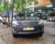 Cần bán Toyota Fortuner 2.7V 4x2 AT sản xuất 2013, màu đen  giá 765 triệu tại Hà Nội