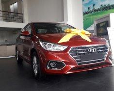 Cần bán Hyundai Accent sản xuất 2018, màu đỏ giá 425 triệu tại Tp.HCM