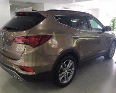 Cần bán xe Hyundai Santa Fe 2.2L 4WD sản xuất 2018, màu nâu giá 1 tỷ 130 tr tại Tp.HCM