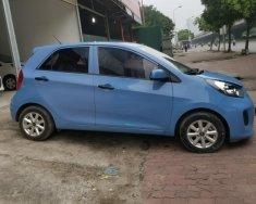Bán Kia Morning đời 2016, màu xanh dương, xe nhập khẩu, đã lắp full đồ giá 318 triệu tại Hà Nội