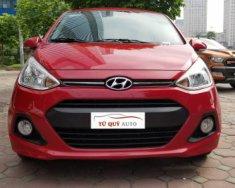 Cần bán gấp Hyundai Grand i10 1.2 AT đời 2015, màu đỏ   giá 402 triệu tại Hà Nội
