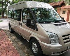 Bán Ford Transit 2.4 16 chỗ, mầu phấn hồng, sản xuất 2013 tư nhân chính chủ, xe chuyên chở học sinh giá 470 triệu tại Hà Nội