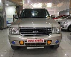Cần bán xe Ford Everest 2.5MT đời 2005, màu bạc giá cạnh tranh giá 295 triệu tại Phú Thọ