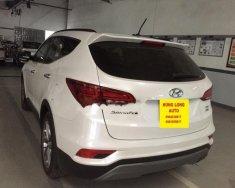 Bán Hyundai Santa Fe 2.2 CRDi 4WD đời 2018, màu trắng giá 1 tỷ 165 tr tại Hà Nội