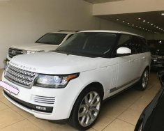 Cần bán gấp LandRover Range Rover Supercharged 5.0 sản xuất 2014, màu trắng, nhập khẩu giá 4 tỷ 600 tr tại Hà Nội