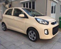 Bán ô tô Kia Morning 1.0 MT sản xuất 2018, màu kem (be) giá cạnh tranh giá 299 triệu tại Hà Nội