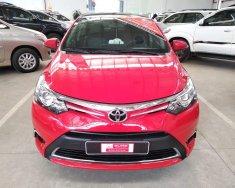 Bán xe Toyota Vios G 2014, màu đỏ, số tự động, xe gia đình đi ít, cực đẹp, giá thương lượng giá 510 triệu tại Tp.HCM
