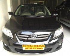 Cần bán lại xe Toyota Corolla altis 1.8 G AT năm 2010, màu đen  giá 500 triệu tại Hà Nội