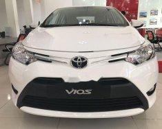 Cần bán Toyota Vios 1.5E sản xuất năm 2018, màu trắng giá cạnh tranh giá 480 triệu tại Tp.HCM
