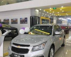 Bán Chevrolet Cruze Cruze số sàn trả góp từ 150tr đời 2018, màu bạc giá 589 triệu tại Hà Nội