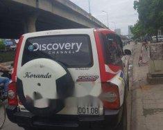 Cần bán xe Ssangyong Korando đời 2011, màu trắng, 130tr giá 130 triệu tại Hà Nội