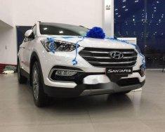 Bán ô tô Hyundai Santa Fe năm sản xuất 2018, màu trắng, giá tốt giá 1 tỷ 80 tr tại Đà Nẵng