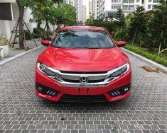 Bán Honda Civic 1.5 Turbo năm 2017, màu đỏ, nhập khẩu giá 900 triệu tại Hà Nội
