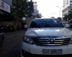 Bán ô tô Toyota Fortuner TRD Sportivo 4x2 AT sản xuất năm 2014, màu trắng   giá 830 triệu tại Tp.HCM