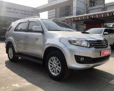 Cần bán xe Toyota Fortuner G đời 2015, màu bạc số sàn giá 870 triệu tại Hà Nội