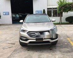 Cần bán xe Hyundai Santa Fe sản xuất 2018, màu bạc, giá tốt giá 1 tỷ 100 tr tại Tp.HCM