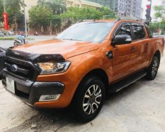 Bán Ford Ranger Wildtrak 4x4 AT sản xuất 2017, màu vàng, nhập khẩu chính chủ giá 890 triệu tại Hà Nội