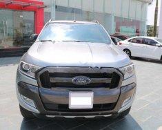 Bán xe Ford Ranger Wildtrak 3.2 năm sản xuất 2016, màu xám, nhập khẩu, giá 825tr giá 825 triệu tại Hà Nội