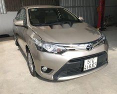 Bán xe Toyota Vios G đời 2017, màu vàng cát giá 566 triệu tại Tp.HCM