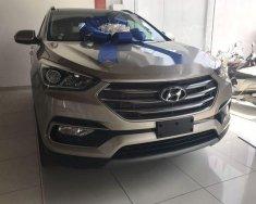 Bán xe Hyundai Santa Fe 2.4L AT sản xuất 2018, màu nâu giá 1 tỷ 40 tr tại Tp.HCM
